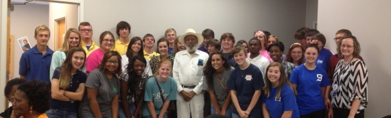 James Meredith at the Senatobia Library